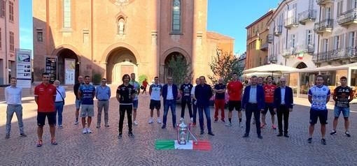 Pallapugno: presentata la Superlega Acqua San Bernardo-Banca d'Alba