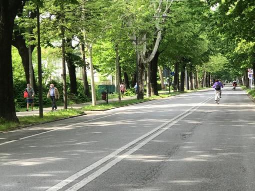 A Cuneo, fino al 17 maggio, il viale degli Angeli sarà una grande isola pedonale