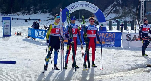 Sci di fondo, Campionati Italiani: oro di Samuele Giraudo nella sprint aspiranti, bronzo per Martino Carollo ed Elisa Gallo