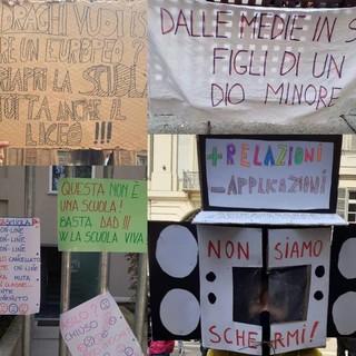Alcune immagini del flash mob a Torino