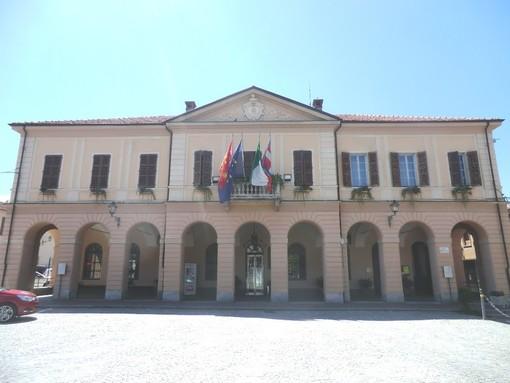 Il municipio di Peveragno