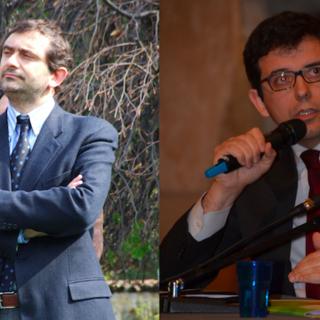 In foto i due candidati, Mondino a sinistra e Piola a destra