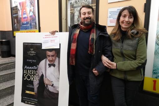 In tv 'Permette? Alberto Sordi' con Edoardo Pesce e l'attore braidese Paolo Giangrasso