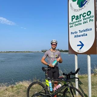 Pier Paolo Comba alla partenza