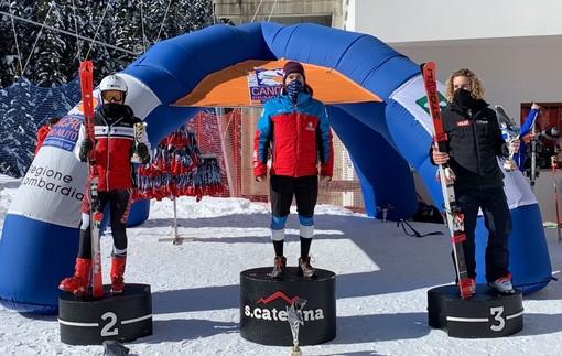 Sci alpino: Edoardo Saracco secondo assoluto e primo Aspirante nel gigante FIS-NJR di Santa Caterina Valfurva