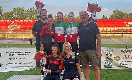 Racconigi Cycling Team: doppia festa tricolore ai Campionati Italiani su Pista Donne Junior con Valentina Basilico e Matilde Beltrami!