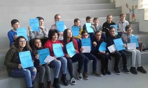 Ottimo piazzamento ai giochi matematici per l'Istituto comprensivo di Cuneo