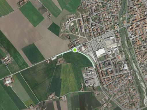 Savigliano: a breve i lavori per la rotatoria all'imbocco dell provinciale 662 per Saluzzo