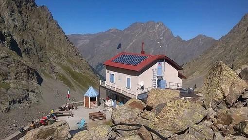 Il rifugio Morelli, foto dal sito del CAI di Cuneo