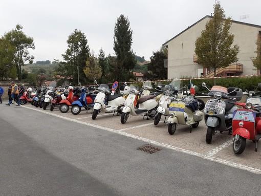 121 partecipanti al raduno nazionale del Vespa Club a Verzuolo