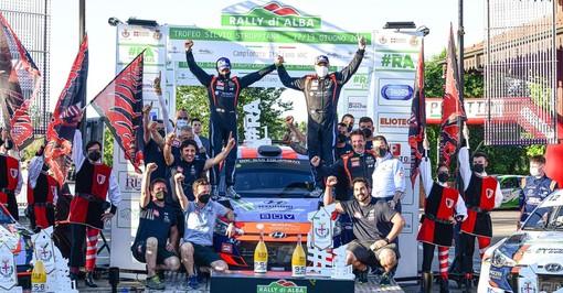 Rally di Alba: BRC Racing Team fa sua la corsa di casa con Rossetti e Fenoli