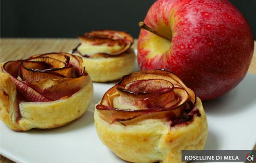 MercoledìVeg di Ortofruit: oppgi prepariamo le deliziose roselline di mela