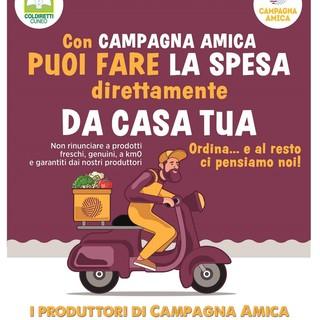 Coronavirus, Coldiretti Cuneo: spesa e menu del contadino a casa, le consegne a domicilio funzionano