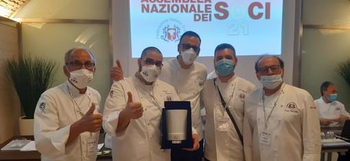 I Cuochi Piemontesi premiati come migliore Unione regionale dell'area Nord
