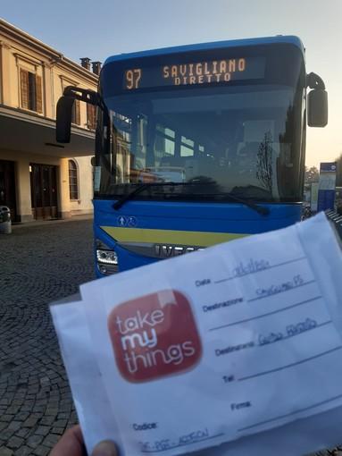 "Le merci ""viaggiano"" in autobus con BusMyThings"
