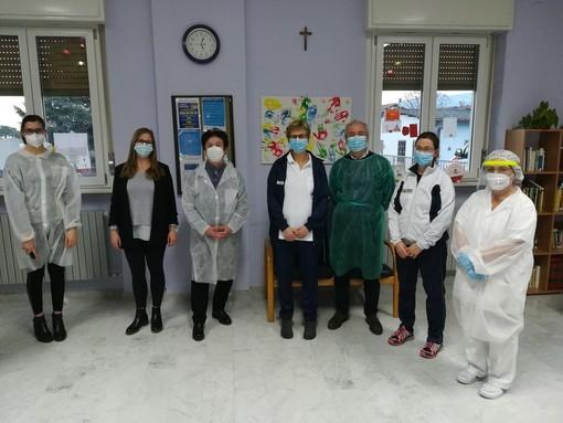 Vaccinazioni al via anche nella casa di riposo San Chiaffredo di Revello