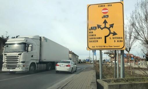 Bra, da lunedì operai al lavoro in via Cuneo. Strada Orti e via Cherasco chiuse ai mezzi pesanti