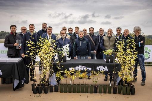 """Il Rally di Alba 2021 è verde con il progetto """"Green Tires"""""""