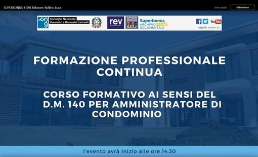 Geometri Cuneo – Corso di Aggiornamento Amministratori di Condominio
