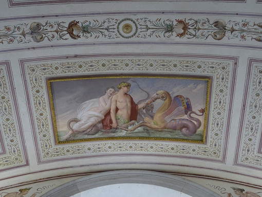 Al Castello di Racconigi, i Bagni di Carlo Alberto pronti per le visite