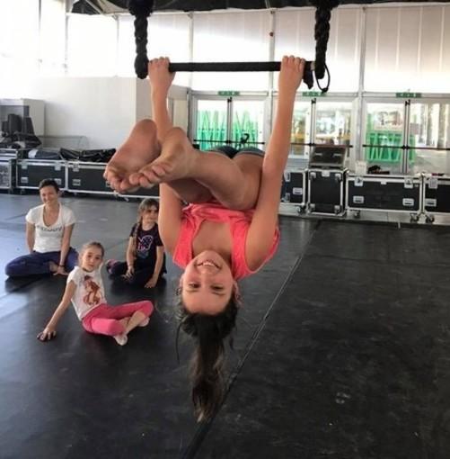 Foto di repertorio, scuole di circo a Spazio 0