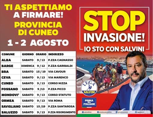 La Lega cuneese dice giù le mani da Matteo Salvini