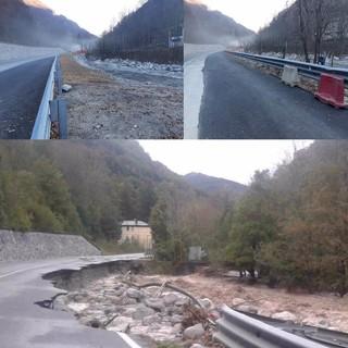 Lavori sulla statale 20 a Limone Piemonte: la strada torna alla (quasi) normalità - FOTO