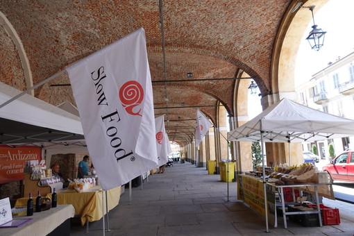 Bra, il Mercato della Terra protagonista a Cheese in piazza Caduti per la Libertà