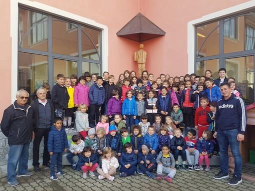 Nuove attrezzature per la scuola Giuseppe Tosa di Cossano Belbo