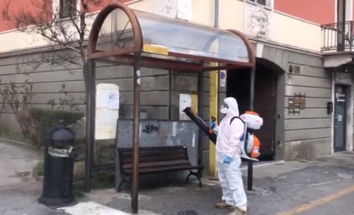 Mondovì combatte il Coronavirus: avviate operazioni di sanificazione in città (VIDEO)
