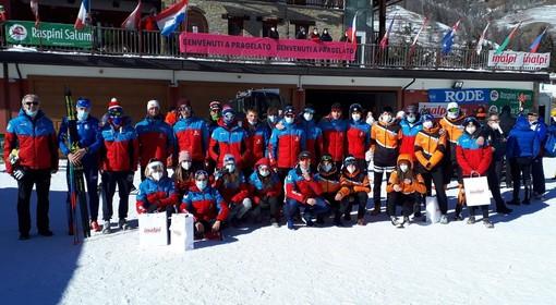 Sci di fondo - Grande stagione per la squadra del Comitato AOC, la soddisfazione degli allenatori