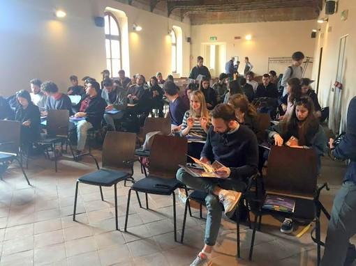 Saluzzo, allievi del Dipartimento di Architettura di Firenze all'antico palazzo comunale