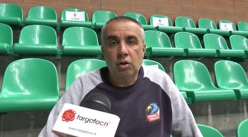 """Volley maschile A2, Coach Serniotti in vista dell'esordio di Cuneo contro Bergamo: """"Trasferta insidiosa ma la stiamo approcciando nel modo giusto"""" (VIDEO)"""