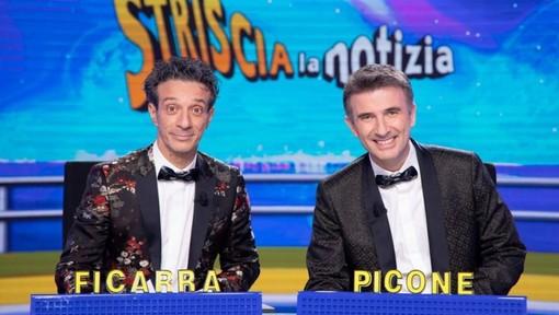 """Il duo di comici Ficarra e Picone, conduttori del momento a """"Striscia la Notizia"""""""