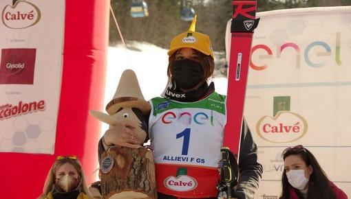 Sci alpino, Trofeo Pinocchio sugli Sci: la cuneese Sofia Mattio domina il gigante Allievi all'Abetone