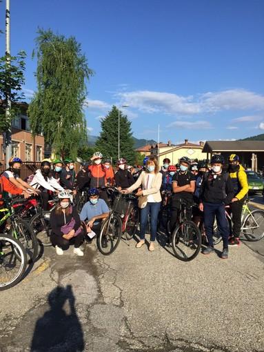 """""""Tutti in bici!"""": una mattinata speciale per le terze medie di Dronero"""