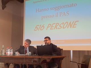 Saluzzo, il  sindaco Mauro Calderoni  al seminario PASsi avanti