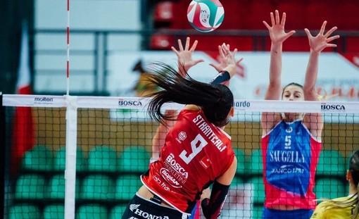 Volley femminile A1: questa sera si gioca l'8^giornata, rinviate Cuneo-Brescia e Chieri-Trento