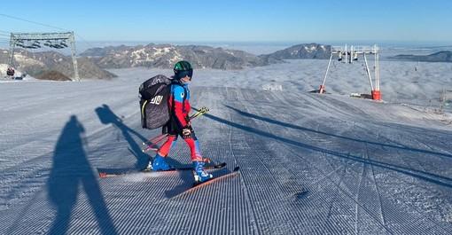 Sci alpino: la preparazione estiva delle squadre AOC inizia a Les Deux Alpes