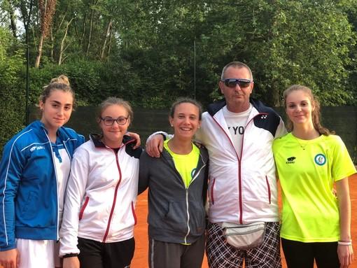 Promozione D1 femminile per la quadra del Tennis Sommariva Bosco