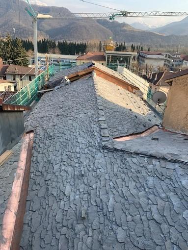 Un tetto nuovo per la Crusà: il cantiere a Borgo San Dalmazzo è giunto al termine