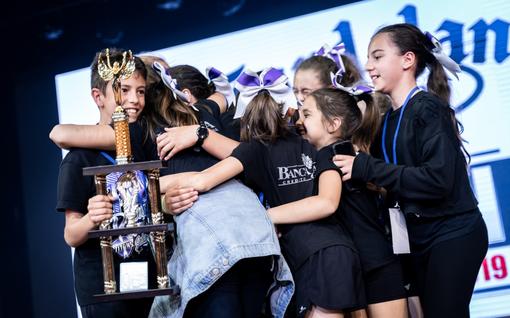 Alba Cheer: trofei e lacrime di gioia per i Titans al Gardaland Cheer Open