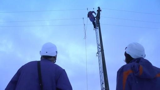 Black-out in Granda: ancora 4.000 utenze senza corrente elettrica. E-Distribuzione prevede di normalizzare il servizio entro sera