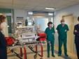 La donazione del ventilatore alla Tin dell'ospedale Santa Croce di Cuneo, in memoria di Nicola Gaiero