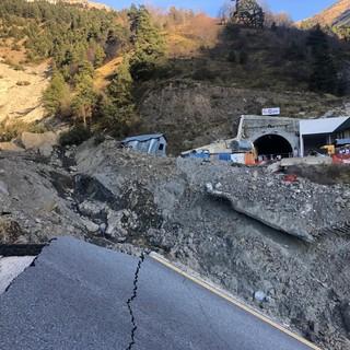 Il versante francese del tunnel del Tenda