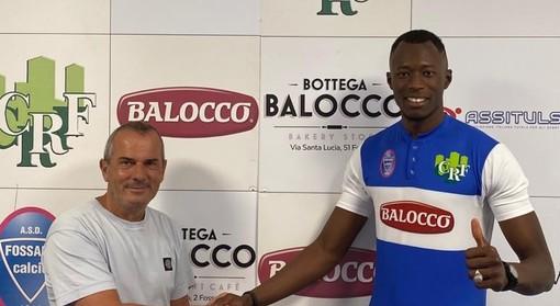 """Serie D - Fossano, ufficiale il ritorno di Babacar Tounkara: """"Contentissimo di essere di nuovo a casa"""""""