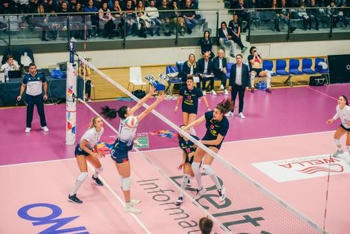 Una immagine relativa alla gara giocata a Trento (foto Alessio Marchi - Ufficio Stampa D.I. Trentino)