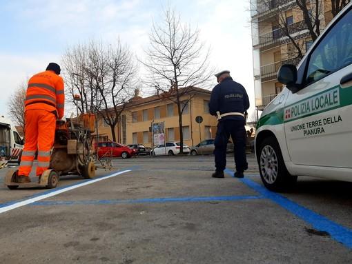Savigliano, i 66 parcheggi blu a pagamento cambiano finalmente tinta