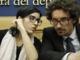 Fabiana Dadone con il ministro per i Trasporti Danilo Toninelli