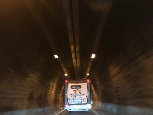 Ripristinato l'impianto antincendio: riaperto al traffico il Tunnel di Tenda